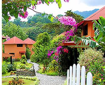 A Boquete, Panama, il y a de nombreux hôtels de milieu de gamme où les étudiants en espagnol peuvent s'héberger